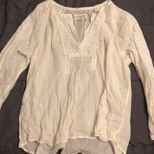 Vintage inspired Ralph Lauren linen blouse